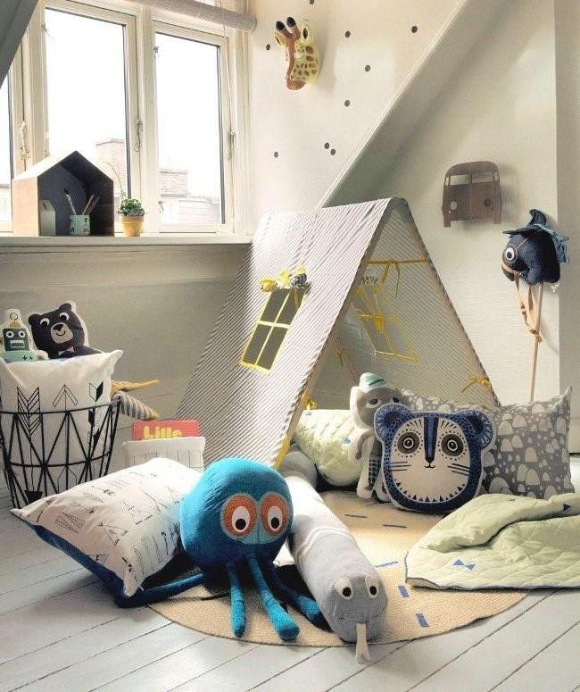 мягкие игрушки для детской комнаты