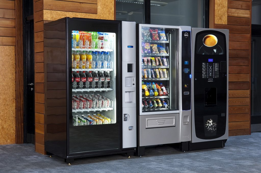Что такое вендинговый автомат