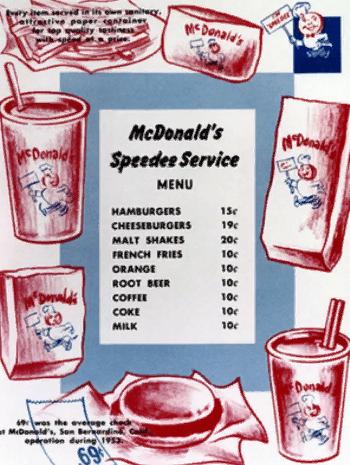 История создания Макдоналдса