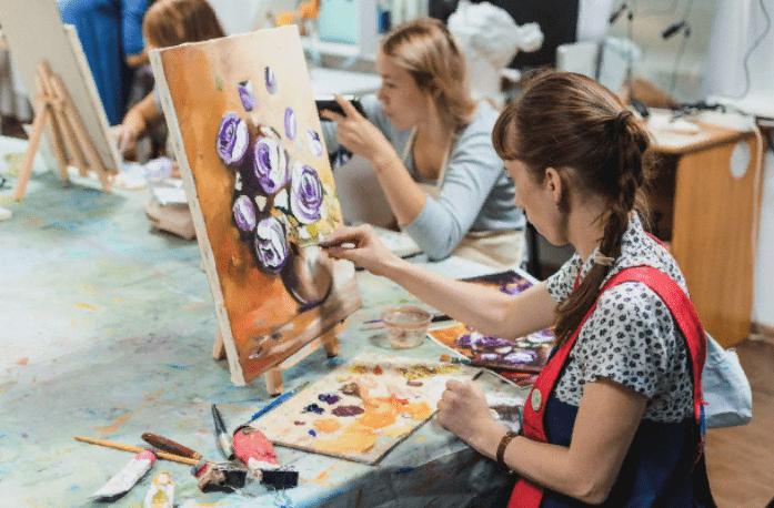 Курсы живописи, как заработок для художника