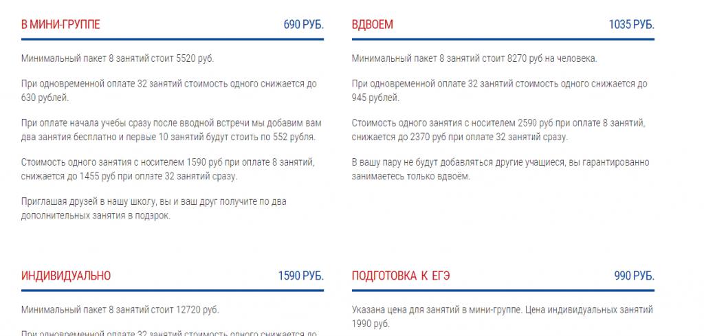 Топ онлайн школ для изучения английского языка